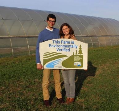 MAEAP Verified Farmer (Megan DeLeeuw of Hand Sown Farm - Washtenaw Co)